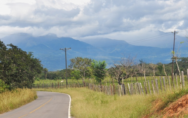 Panama mountains