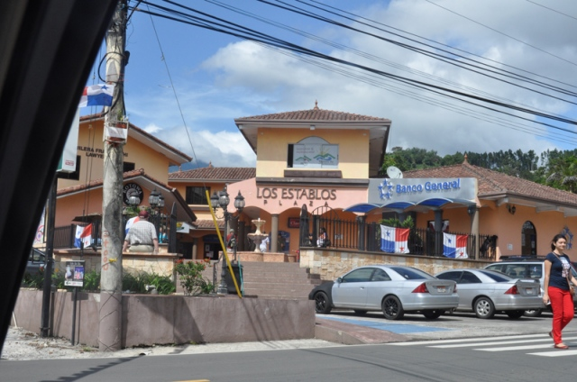 Halba Ya, my Spanish school is in this little complex in Boquete
