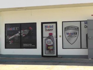 Even our neighborhood gas station has Mobil products