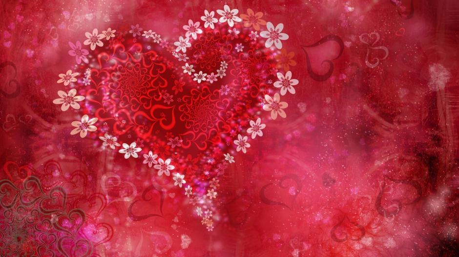 HD-Love-Heart-Flowers-Wallpaper-Backgrounds
