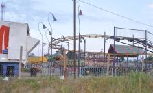 The amusement park area