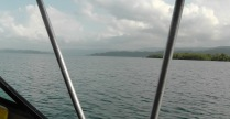 The islands around the area look beautiful.