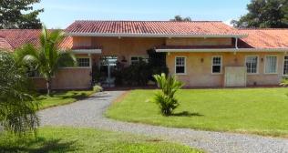 The resort building.