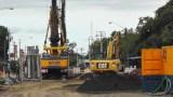 Lots of big machines at work!
