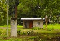 We also passed many tiny Panamanian houses.