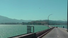 We landed in Oakland this time, and crossed Richmond–San Rafael Bridge on our way north. What a pretty drive.