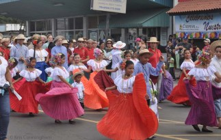 There were so many girls and women swirling their beautiful skirts, and boys and men in traditional dress as well!
