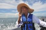 Lionel, our boat captain.