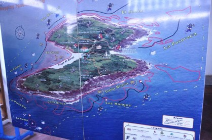 There was a visitors center with lots of info about the island and the wildlife.