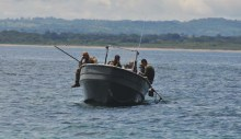 Police in boats - this is a whole other story which I will tell below.