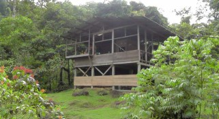 This is the main house where we had meals, games, social time, and watched the wildlife.