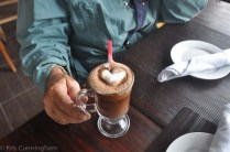 We thought being cold was a perfect excuse for hot chocolate!
