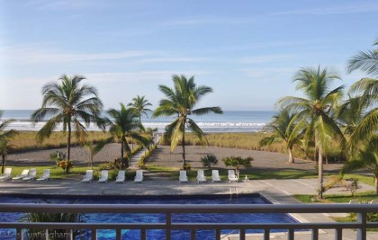 The view from the condo in the morning.