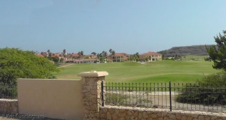Then, we headed towards the lighthouse, passing some of the upscale neighborhoods for the rich folks, and this golf course.
