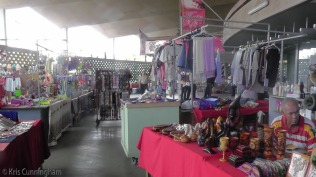 We wandered into this very interesting market, a big circular building with vendors all around.