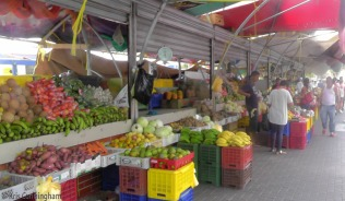 Then, there were many produce vendors.