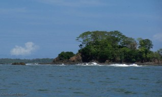 There were many small islands like this