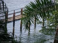The dock down below,