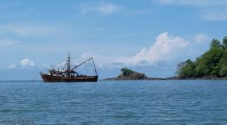 A fishing boat.