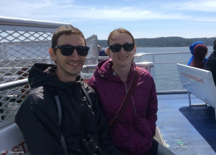 We are ready to go find some orcas.