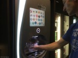 I love the touch screen drink dispenser which will give you about anything you can imagine.