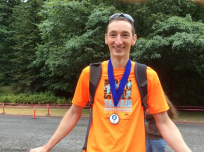 Our winner, 3rd in his age group, and 30th of 400 who finished the Olympic level triathlon!