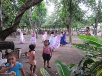 These girls were practicing for the fiesta planned this weekend in Altagracia.