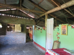 The inside of the house