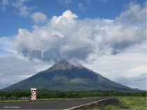 Today's airport volcano photo