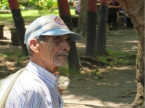 I thought this man in Altagracia had a very interesting face.