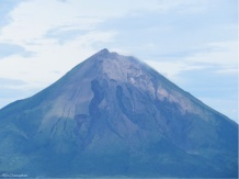And for good measure, one more photo of the volcano.