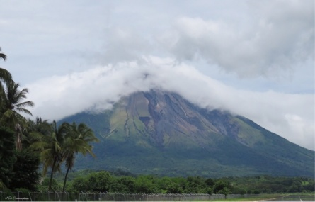 Today's view of the volcano