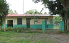 The elementary school in San Juan. The kids will usually holler greetings if they are outside.