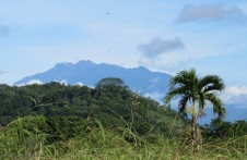 As I left our neighborhood, Volcan Baru looked spectacular!