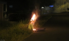 At midnight, the muñenco is set on fire. This looks a bit creepy so remember it is only straw, old clothes, and firecrackers.