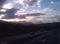 Pretty scenery and clouds