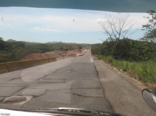 Much of the road is in very poor condition and getting worse all the time from the heavy vehicles that must use it every day.