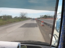 The existing road that is being used currently is in poor condition and there is very little shoulder.