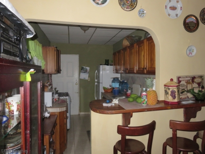 The kitchen. Cedo used to have a restaurant so she has all the pots and pans, and can teach you how to make all sorts of yummy Panamanian food if you are interested.