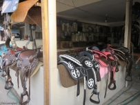 This place had beautiful boots and saddles