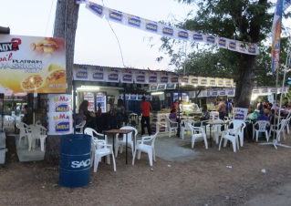 One of the many, many eating places found on the fairgrounds