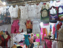 just a few of the cute clothes and other items for sale. I think these might be from Peru.