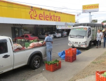 For anyone local wanting to find this market, look for Elektra on Obaldia a ways south of the Pan-American Highway. The market is around the corner on a side street.