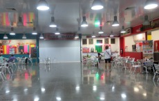 The other side of the food court.