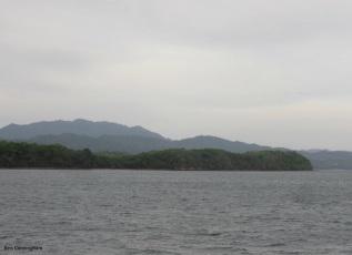 We pass beautiful, peaceful islands