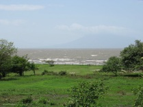 It wasn't long before I saw Lake Nicaragua!