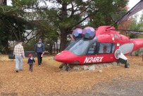The biggest attraction for Camden is the helicopter. It was an actual medical helicopter that is now retired and available for the kids at the museum.