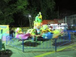 With the low light and slow shutter speed, this ride really looks like it's moving!