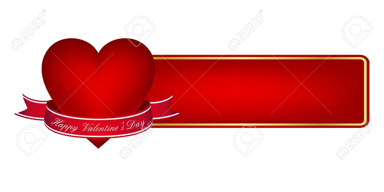 11497372 Valentine S Day Banner Stock Vector