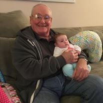 Fun with grandpa!